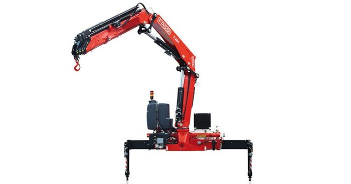 Fassin knuckle boom medium duty cranes